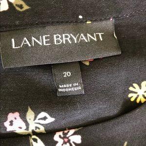 Lane Bryant size 20 flutter shirt